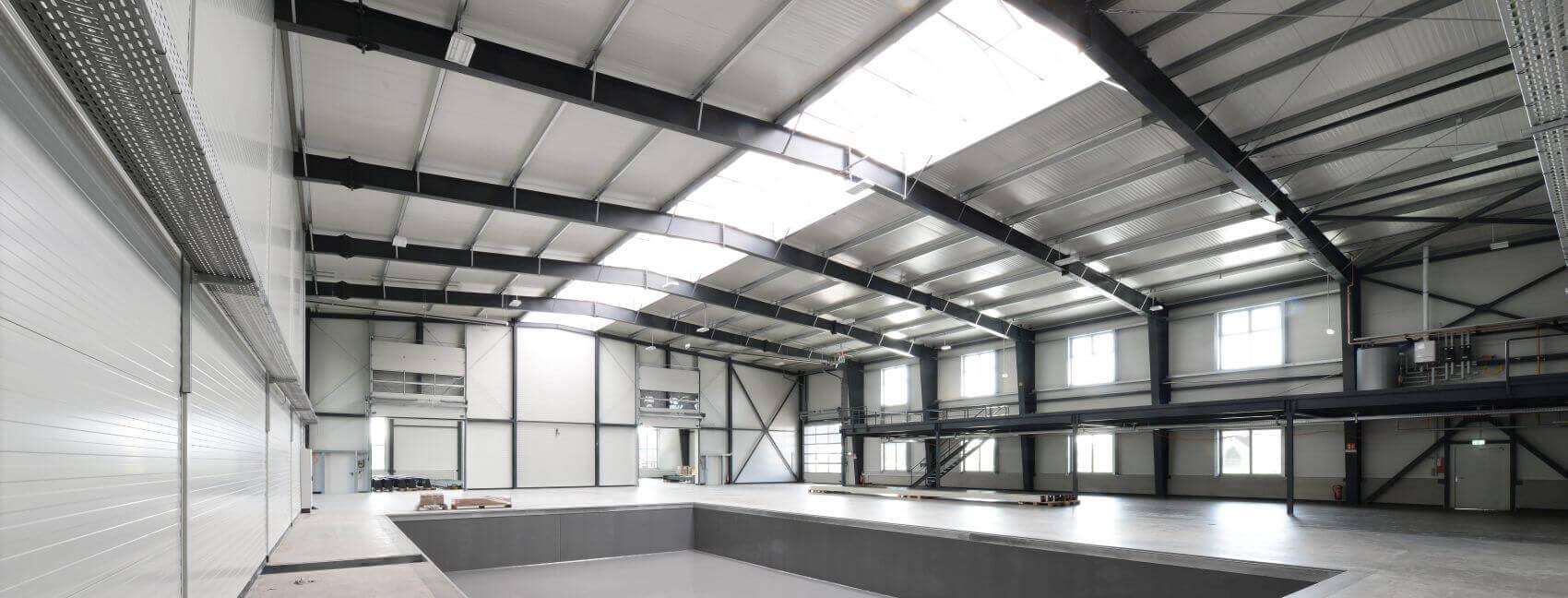 Hallenbau pem buildings stahlhallen f r industrie for 4000 sq ft steel building